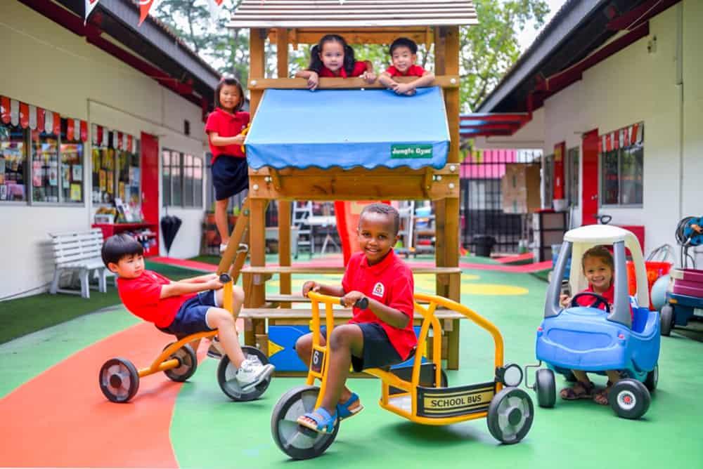 children outdoor playground play